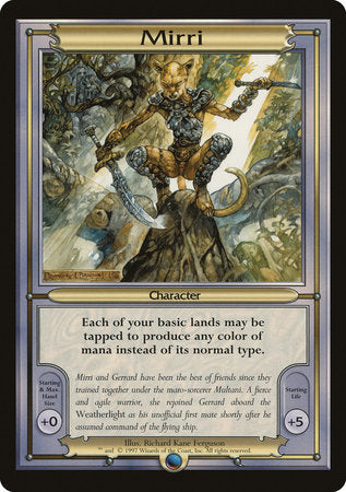 Mirri (Oversize) [Vanguard Series] | Eastridge Sports Cards & Games
