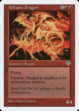 Volcanic Dragon [Anthologies] | Eastridge Sports Cards & Games