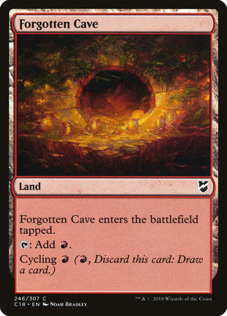 Forgotten Cave [Commander 2018] | Eastridge Sports Cards & Games