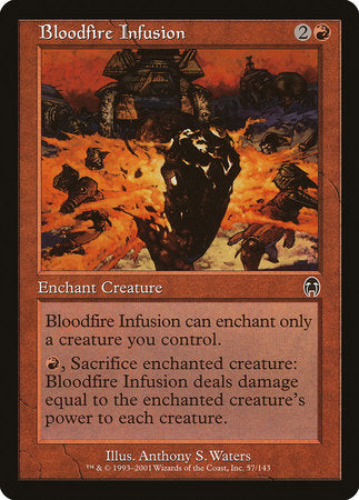 Bloodfire Infusion [Apocalypse] | Eastridge Sports Cards & Games