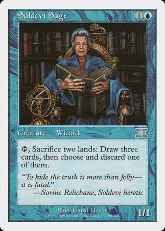Soldevi Sage [Classic Sixth Edition] | Eastridge Sports Cards & Games