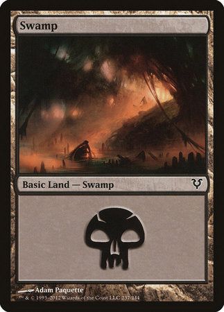 Swamp (237) [Avacyn Restored] | Eastridge Sports Cards & Games