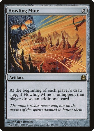 Howling Mine [Commander 2011] | Eastridge Sports Cards & Games