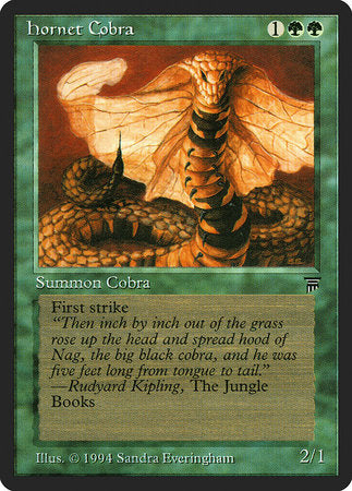Hornet Cobra [Legends] | Eastridge Sports Cards & Games