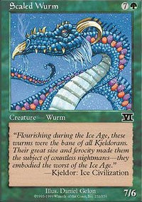 Scaled Wurm [Classic Sixth Edition] | Eastridge Sports Cards & Games