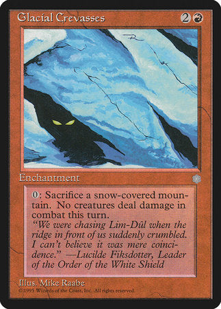 Glacial Crevasses [Ice Age] | Eastridge Sports Cards & Games