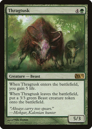 Thragtusk [Magic 2013] | Eastridge Sports Cards & Games