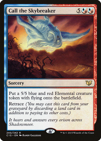 Call the Skybreaker [Commander 2015] | Eastridge Sports Cards & Games