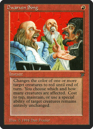Dwarven Song [Legends] | Eastridge Sports Cards & Games