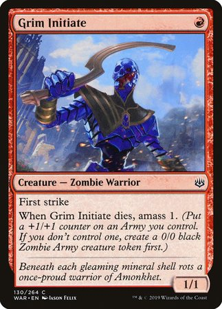 Grim Initiate [War of the Spark] | Eastridge Sports Cards & Games