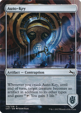 Auto-Key [Unstable] | Eastridge Sports Cards & Games