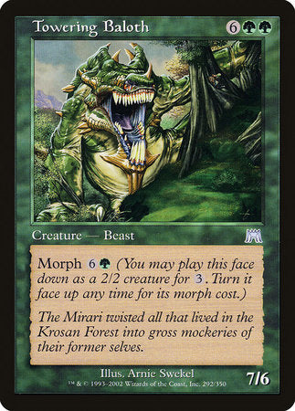 Towering Baloth [Onslaught] | Eastridge Sports Cards & Games