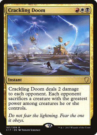 Crackling Doom [Commander 2017] | Eastridge Sports Cards & Games