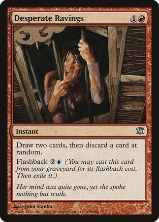 Desperate Ravings [Innistrad] | Eastridge Sports Cards & Games