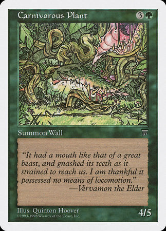 Carnivorous Plant [Anthologies] | Eastridge Sports Cards & Games