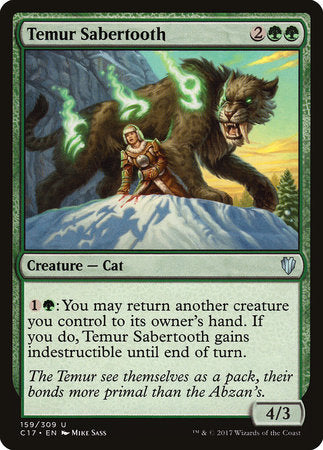 Temur Sabertooth [Commander 2017] | Eastridge Sports Cards & Games