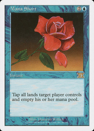 Mana Short [Classic Sixth Edition] | Eastridge Sports Cards & Games