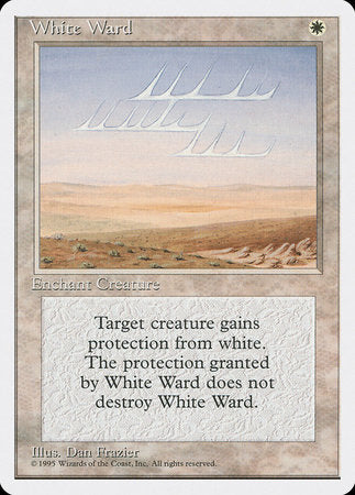 White Ward [Fourth Edition] | Eastridge Sports Cards & Games
