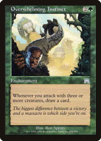 Overwhelming Instinct [Onslaught] | Eastridge Sports Cards & Games