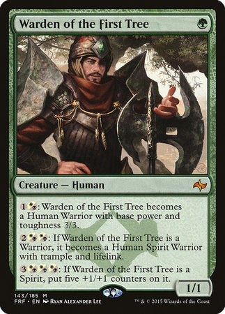 Warden of the First Tree [Fate Reforged] | Eastridge Sports Cards & Games