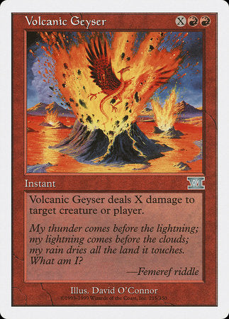 Volcanic Geyser [Classic Sixth Edition] | Eastridge Sports Cards & Games
