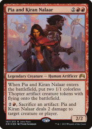 Pia and Kiran Nalaar [Magic Origins Promos] | Eastridge Sports Cards & Games