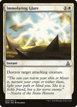 Immolating Glare [Oath of the Gatewatch] | Eastridge Sports Cards & Games
