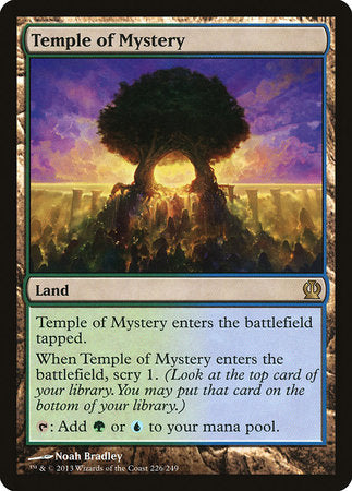 Temple of Mystery [Theros] | Eastridge Sports Cards & Games