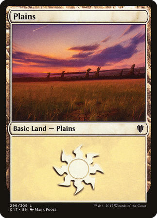 Plains (296) [Commander 2017] | Eastridge Sports Cards & Games