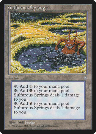 Sulfurous Springs [Ice Age] | Eastridge Sports Cards & Games