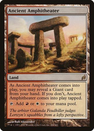 Ancient Amphitheater [Lorwyn] | Eastridge Sports Cards & Games