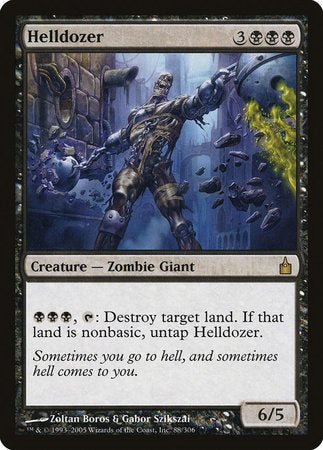 Helldozer [Ravnica: City of Guilds] | Eastridge Sports Cards & Games