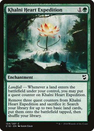 Khalni Heart Expedition [Commander 2018] | Eastridge Sports Cards & Games