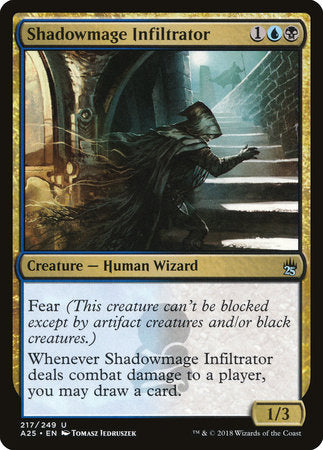Shadowmage Infiltrator [Masters 25] | Eastridge Sports Cards & Games