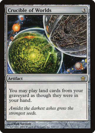 Crucible of Worlds [Fifth Dawn] | Eastridge Sports Cards & Games