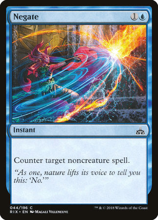Negate [Rivals of Ixalan] | Eastridge Sports Cards & Games