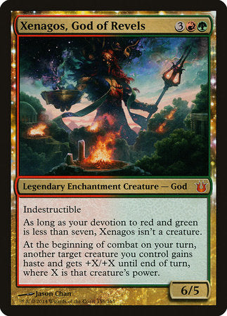 Xenagos, God of Revels [Born of the Gods] | Eastridge Sports Cards & Games