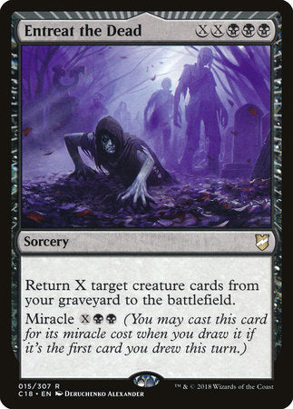 Entreat the Dead [Commander 2018] | Eastridge Sports Cards & Games