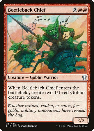 Beetleback Chief [Commander Anthology Volume II] | Eastridge Sports Cards & Games