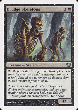 Drudge Skeletons [Ninth Edition] | Eastridge Sports Cards & Games
