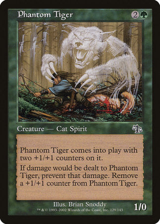 Phantom Tiger [Judgment] | Eastridge Sports Cards & Games