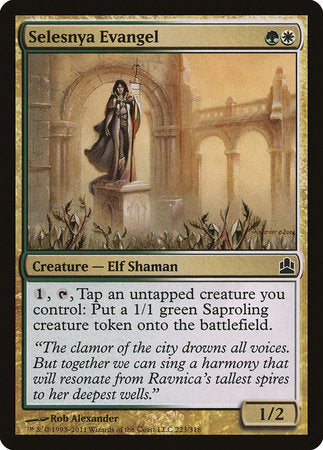 Selesnya Evangel [Commander 2011] | Eastridge Sports Cards & Games