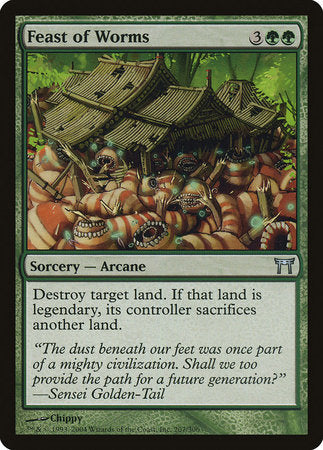 Feast of Worms [Champions of Kamigawa] | Eastridge Sports Cards & Games