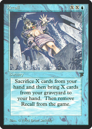 Recall [Legends] | Eastridge Sports Cards & Games