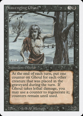 Scavenging Ghoul [Revised Edition] | Eastridge Sports Cards & Games