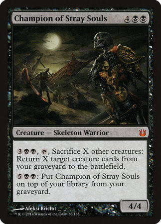 Champion of Stray Souls [Born of the Gods] | Eastridge Sports Cards & Games