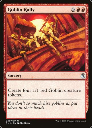 Goblin Rally [GRN Guild Kit] | Eastridge Sports Cards & Games