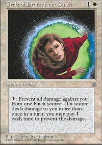 Circle of Protection: Black [Ice Age] | Eastridge Sports Cards & Games