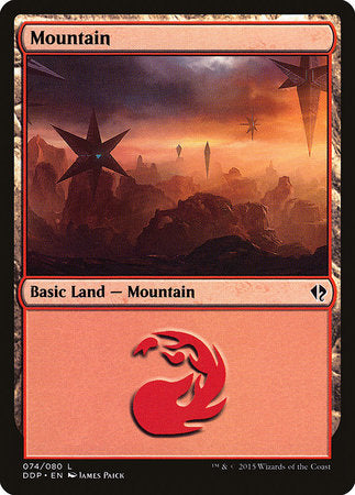 Mountain (74) [Duel Decks: Zendikar vs. Eldrazi] | Eastridge Sports Cards & Games