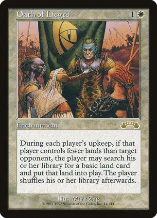 Oath of Lieges [Exodus] | Eastridge Sports Cards & Games